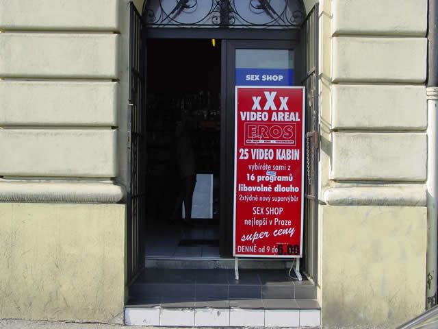 Prodejna - Praha